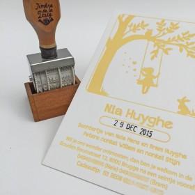 Letterpress-geboortekaartje-Nia-Boom-meisje 1