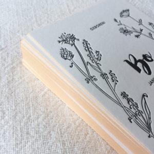 letterpress-geboortekaartje-veldbloemen-bo-hertje-wildebloemen-botanisch-handgetekend-bloemen-fluitekruid-papaver-zomer-lente-close-up