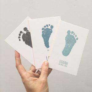 letterpress-geboortekaartje-boaz-elouan-voetprint-voetafdruk-afdrukje-babyvoetje-voetje-stempel-voetafdruk-baby-ware-grootte-amsterdam-lief-relief-diepdruk